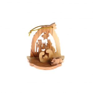 Olive Wood Christmas Decorations Nativity – Nativity