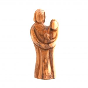 Olive Wood Holy Family