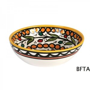 Hand Made Ceramics – Yellow Soup Bowl