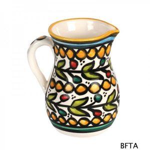 Hand Made Ceramics – Yellow Milk Pitcher