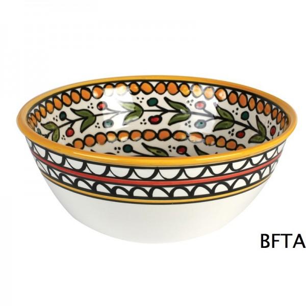 Hand Made Ceramics – Yellow Fruit Bowl