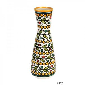 Hand Made Ceramics – Yellow Flower Vase 3