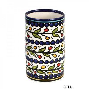 Hand Made Ceramics – Blue Wine Bottle Holder