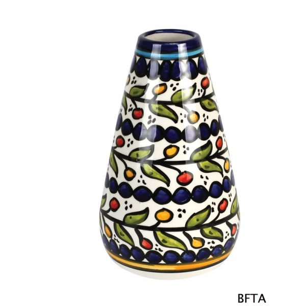 Hand Made Ceramics – Blue Flower Vase 1