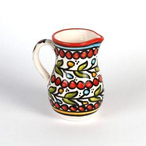 Hand Made Ceramics - Red Milk Pitcher