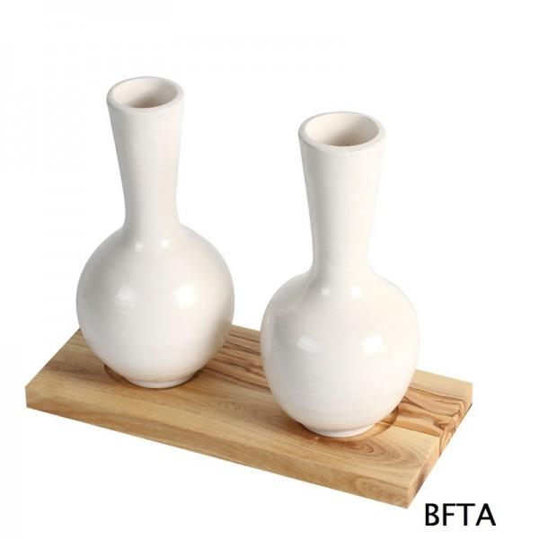 Hand Made Ceramics – White Vase