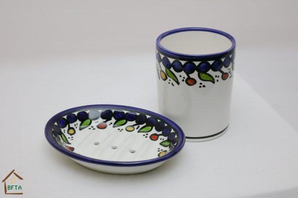 Hand Made Ceramics – Bathroom – Mug & Soap Dish