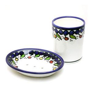 Hand Made Ceramics - Bathroom - Mug & Soap Dish