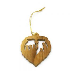 Olive Wood Ornament – 3 Kings