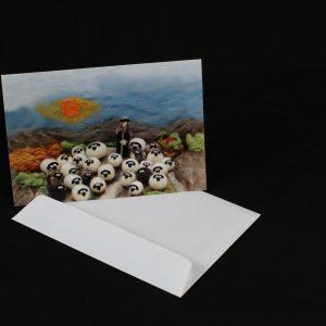 Greetings Card – Sheeps