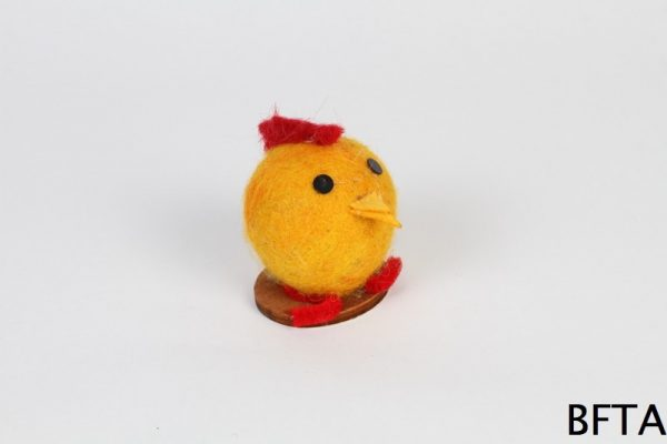 Hand Made Felt Wool Chick