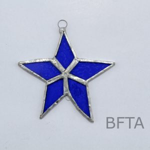 Recycled Glass Star
