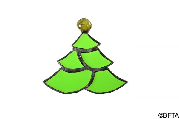 Recycled Glass Tree Medium