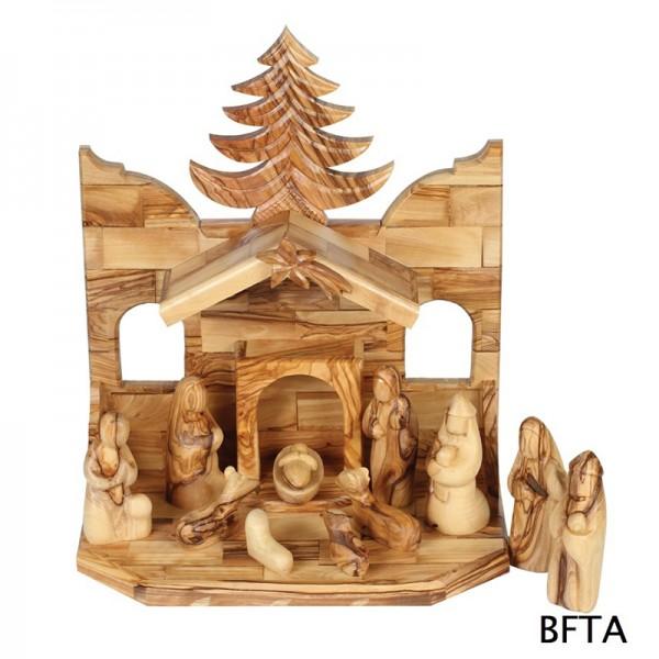 Olive Wood 11 cm Figures