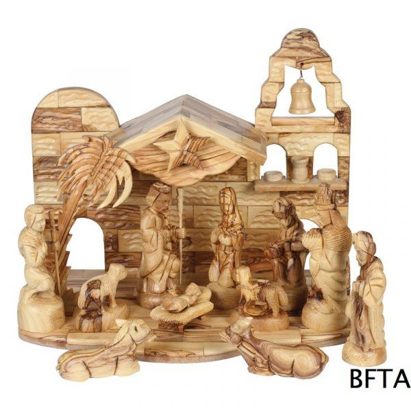 Olive Wood Faresy Figures 16 cm