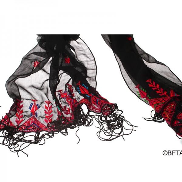 Embroidered Shiffon Shal