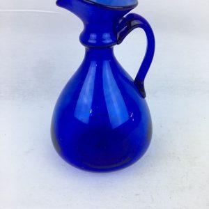 Blown Glass – Oil Holder – Dark Blue