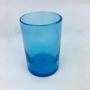 Blown Glass – Cups Small- Light Blue