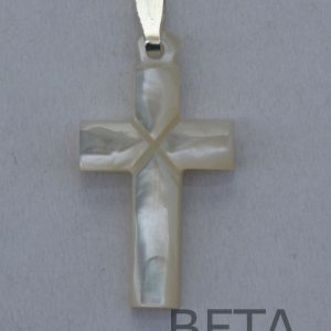 Mother of Pearl Plain cross small