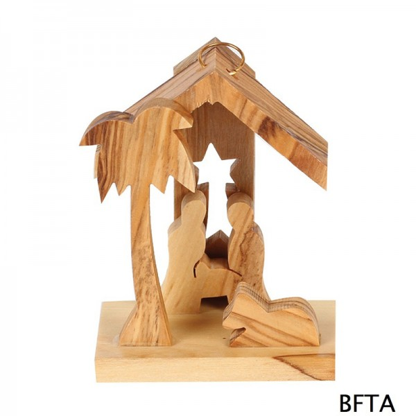 Olive Wood Baby Nativity