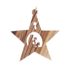 Olive Wood Star – Shepherd
