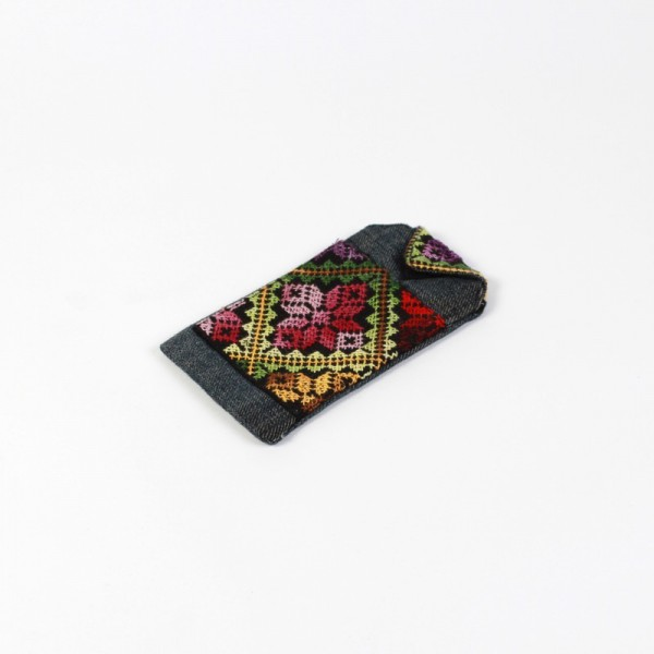 Embroidered Mobile Case small