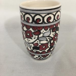 Hand Made Ceramics Water Cup – Wine Red