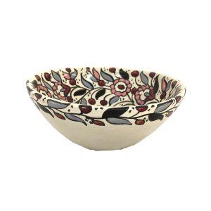 Hand Made Ceramics Bowl - Pink and Grey