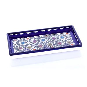 Floral Hand designed serving plate - Fruits / Nuts / Sweets