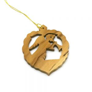 Olive Wood Ornament - An Angel